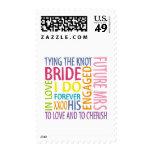 Sentimientos de la novia que casan sellos