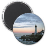 Sentinal at Sunset 2 Inch Round Magnet