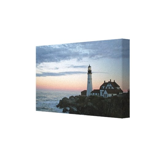 Sentinal at Sunset II Stretched Canvas Print