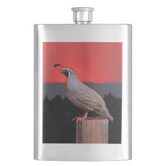 SENTINEL AT SUNSET HIP FLASK