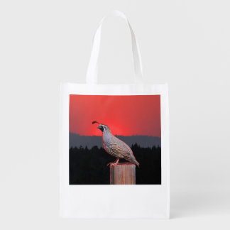 SENTINEL AT SUNSET GROCERY BAGS