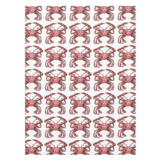 Sentinel Crab, Red Tablecloth
