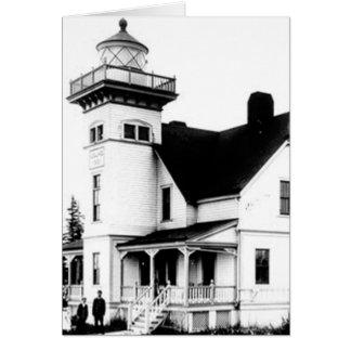 Sentinel Island Lighthouse 2 Card