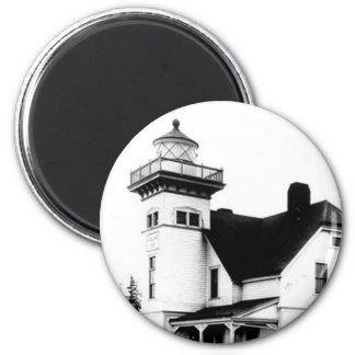Sentinel Island Lighthouse 2 Magnet