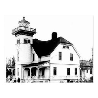 Sentinel Island Lighthouse 2 Postcard