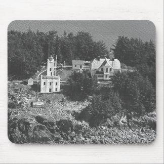 Sentinel Island Lighthouse Mousepad