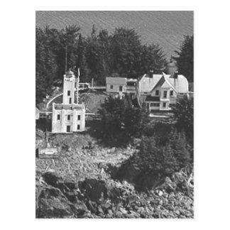 Sentinel Island Lighthouse Postcard