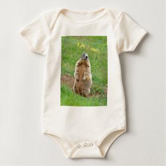 Sentinel marmot baby bodysuit