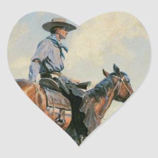 Sentinel of the Plains Heart Sticker