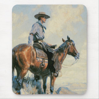 Sentinel of the Plains Mouse Pad