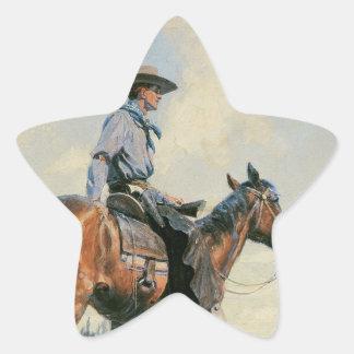 Sentinel of the Plains Star Sticker