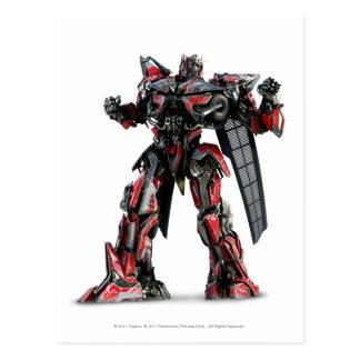Sentinel Prime CGI 1 Postcard