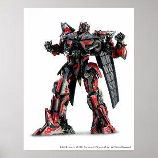 Sentinel Prime CGI 1 Poster