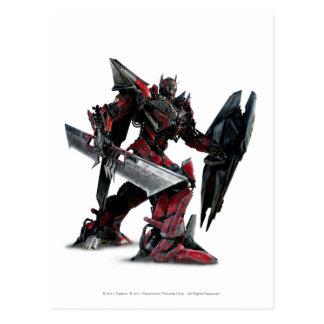 Sentinel Prime CGI 2 Postcard