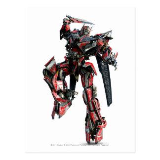 Sentinel Prime CGI 3 Postcard