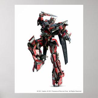Sentinel Prime CGI 3 Poster