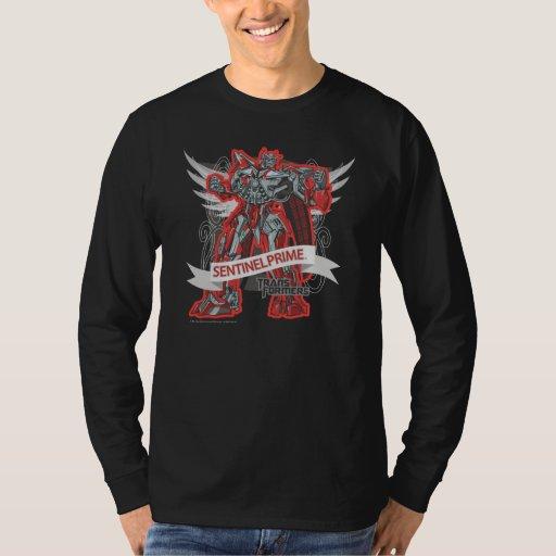 Sentinel Prime Grey Wings Shirt