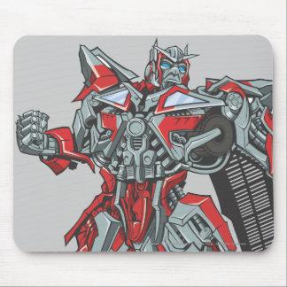 Sentinel Prime Line Art 1 Mouse Pad