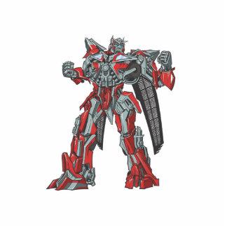 Sentinel Prime Line Art 1 Photo Statuette