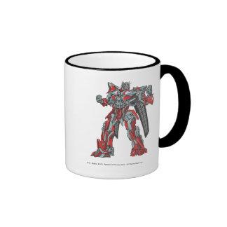 Sentinel Prime Line Art 1 Ringer Mug