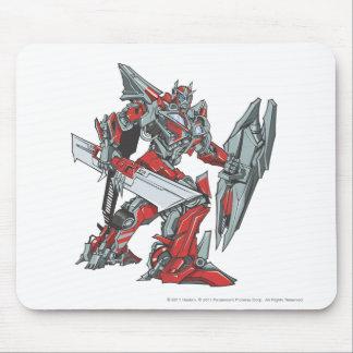 Sentinel Prime Line Art 2 Mouse Pad