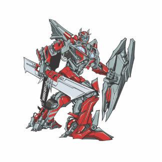Sentinel Prime Line Art 2 Photo Statuette