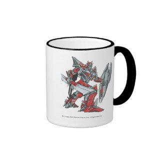 Sentinel Prime Line Art 2 Ringer Mug