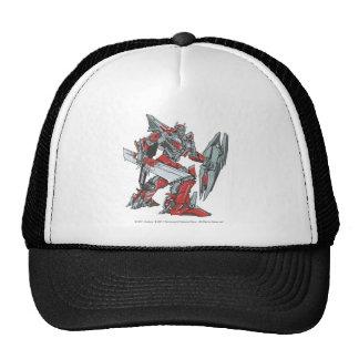 Sentinel Prime Line Art 2 Trucker Hat