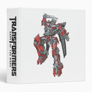 Sentinel Prime Line Art 3 Binder