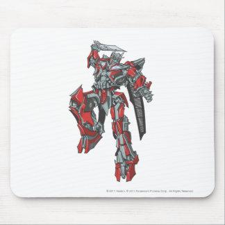 Sentinel Prime Line Art 3 Mouse Pad