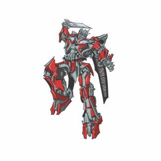 Sentinel Prime Line Art 3 Photo Statuette