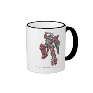 Sentinel Prime Line Art 3 Ringer Mug