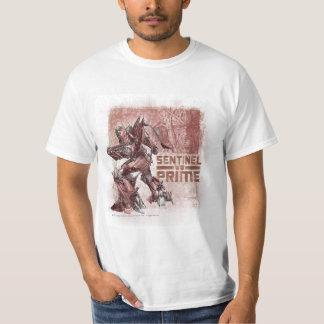 Sentinel Prime Over Shoulder Stylized 2 T-shirt