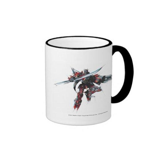 Sentinel Prime Sketch 1 Coffee Mug