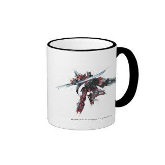 Sentinel Prime Sketch 1 Ringer Mug