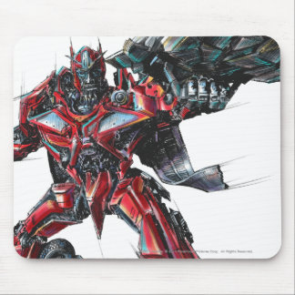 Sentinel Prime Sketch 2 Mouse Pad