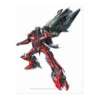 Sentinel Prime Sketch 2 Postcard