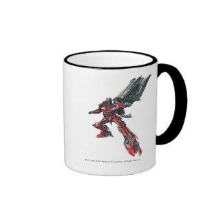 Sentinel Prime Sketch 2 Ringer Mug