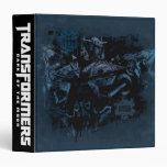 Sentinel Prime Stylized Paint 3 Ring Binder
