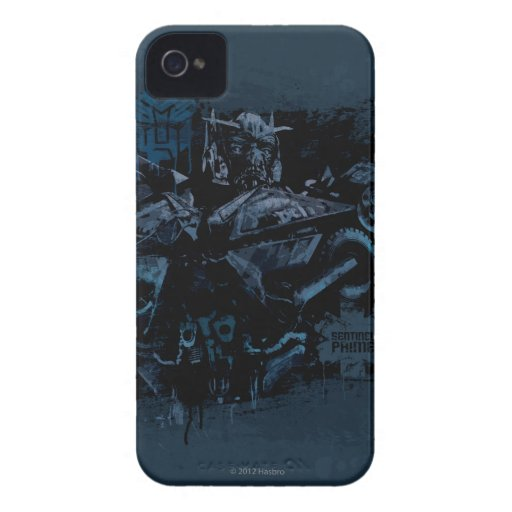 Sentinel Prime Stylized Paint iPhone 4 Covers