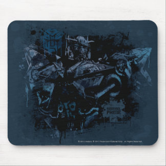 Sentinel Prime Stylized Paint Mouse Pad