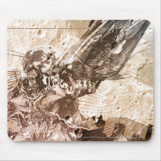 Sentinel Prime Stylized Sketch Texture Mousepad