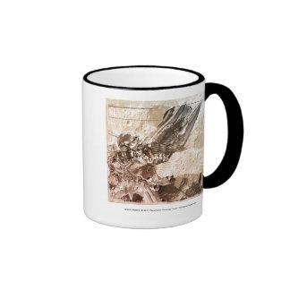 Sentinel Prime Stylized Sketch Texture Ringer Mug