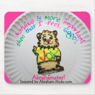 Sentir bien Mousepad de la galleta de Abrahamster
