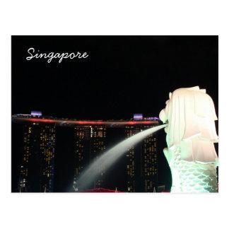 Sentosa Marina Bay Singapore Postcard