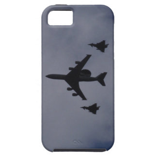 Sentry Escorted By Typhoons iPhone 5 Case