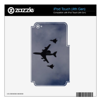 Sentry Escorted By Typhoons iPod Touch 4G Skin