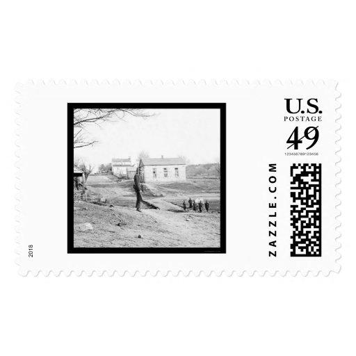 Sentry in Centreville, VA 1862 Stamp