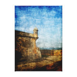 Sentry Post Stretched Canvas Print