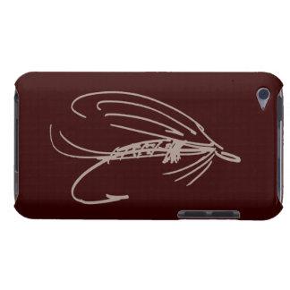 Señuelo abstracto de la mosca mojada funda para iPod